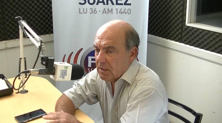 Ricardo Moccero anunció trabajo para los suarenses