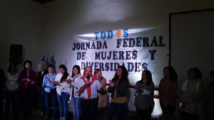 Coronel Suárez fue sede de la Jornada Federal de Mujeres y Diversidades
