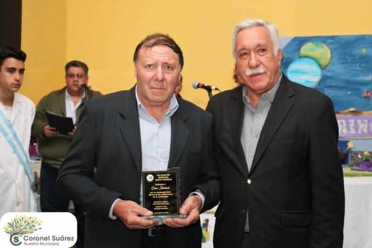 Santa Trinidad reconoció a sus vecinos: Omar Steinbach  es el destacado 2019
