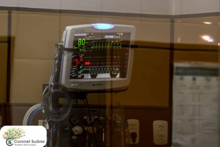 El municipio renovó totalmente la central de monitoreo de Terapia Intensiva y adquirió cinco nuevos monitores