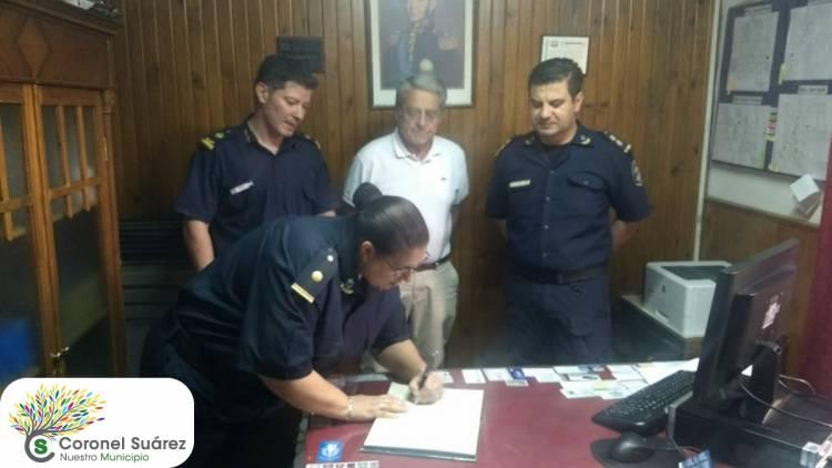 La Subcomisaria María Alejandra Espínola es la responsable de la Comisaría 3º de Pueblo San José