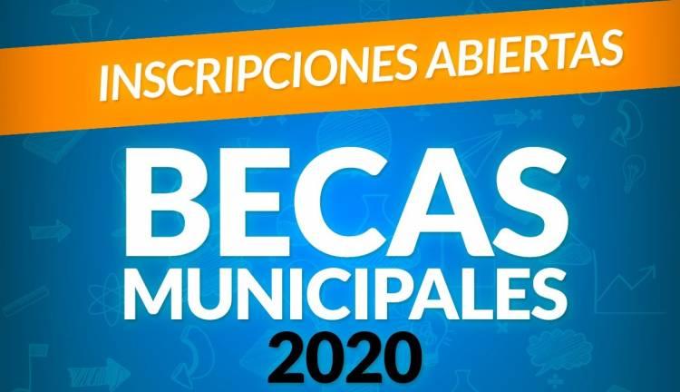 Abrimos la inscripción de las becas para el año 2020