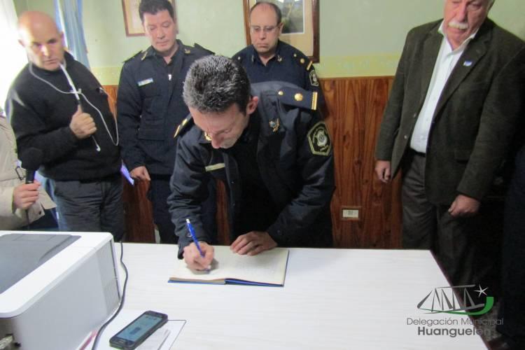 Se presentó al nuevo Jefe Policial de Huanguelén