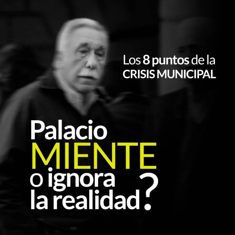 ¿Palacio miente o ignora la realidad?
