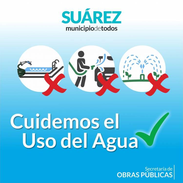 Restricción del suministro de agua corriente por tareas de reparación en el tanque de agua