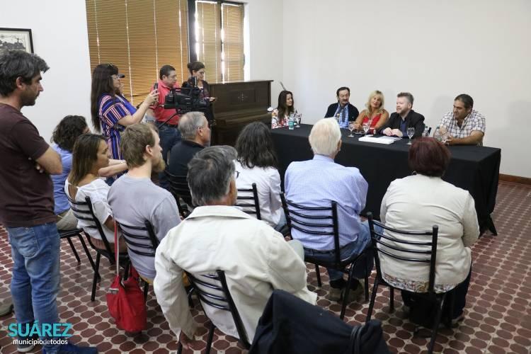 El periodista Leandro Vesco visitó Coronel Suárez