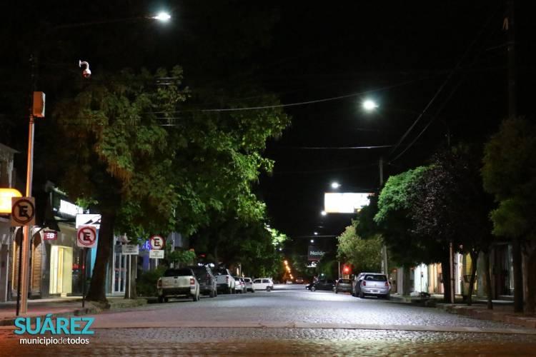 """Programa """"Suarez LED"""": Una ciudad más y mejor iluminada es una ciudad más segura"""