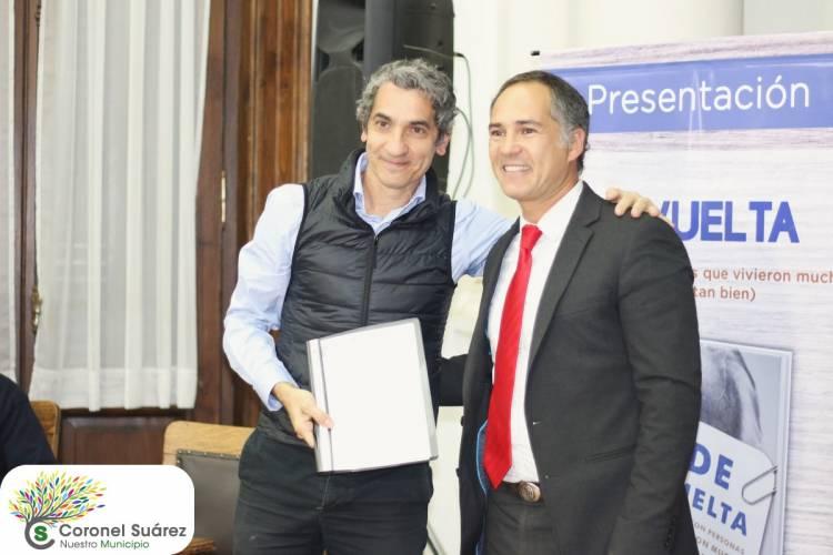 "Diego Bernardini presentó su libro ""De vuelta"""