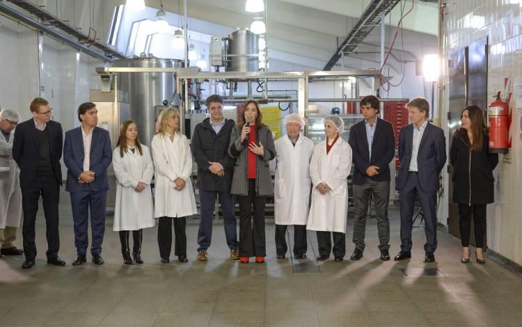 """Vidal anunció un paquete de medidas para ayudar a las pequeñas y medianas empresas: """"Queremos seguir generando trabajo"""""""
