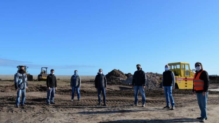 Obra pública en Bahía Blanca y la zona: supervisan los trabajos en la ruta nacional 33