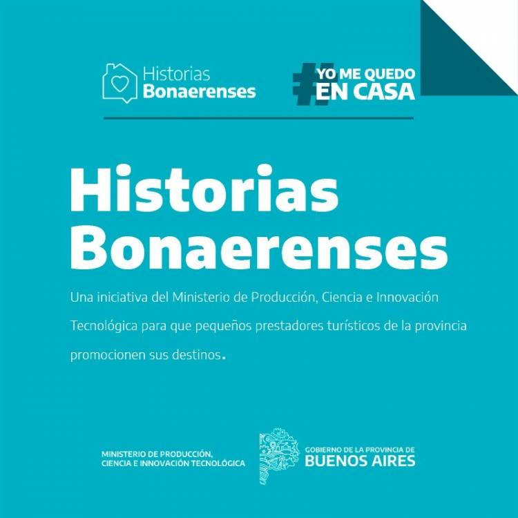 Convocatoria a prestadores turísticos para contar Historias Bonaerenses