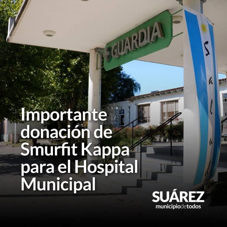 Importante donación de Smurfit Kappa para el Hospital Municipal