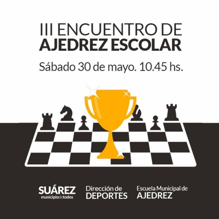 III encuentro de ajedrez escolar