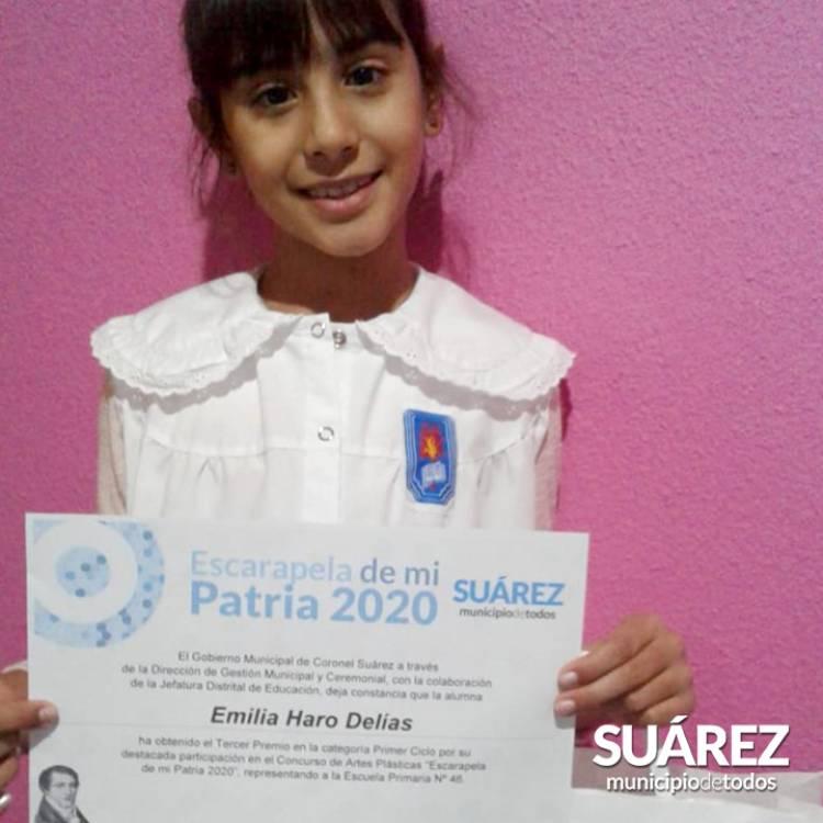 """Concurso """"Escarapela de mi Patria"""": fotos de los premiados"""