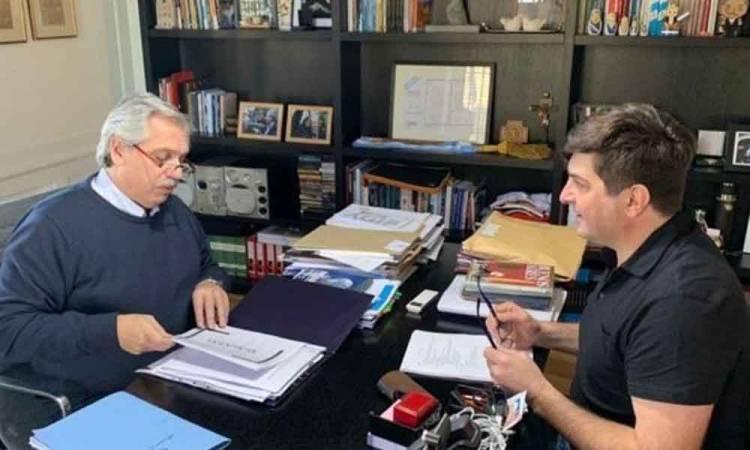 """Fernández se reunió con el interventor de Vicentin y acordaron """"no aferrarse a ningún instrumento"""""""