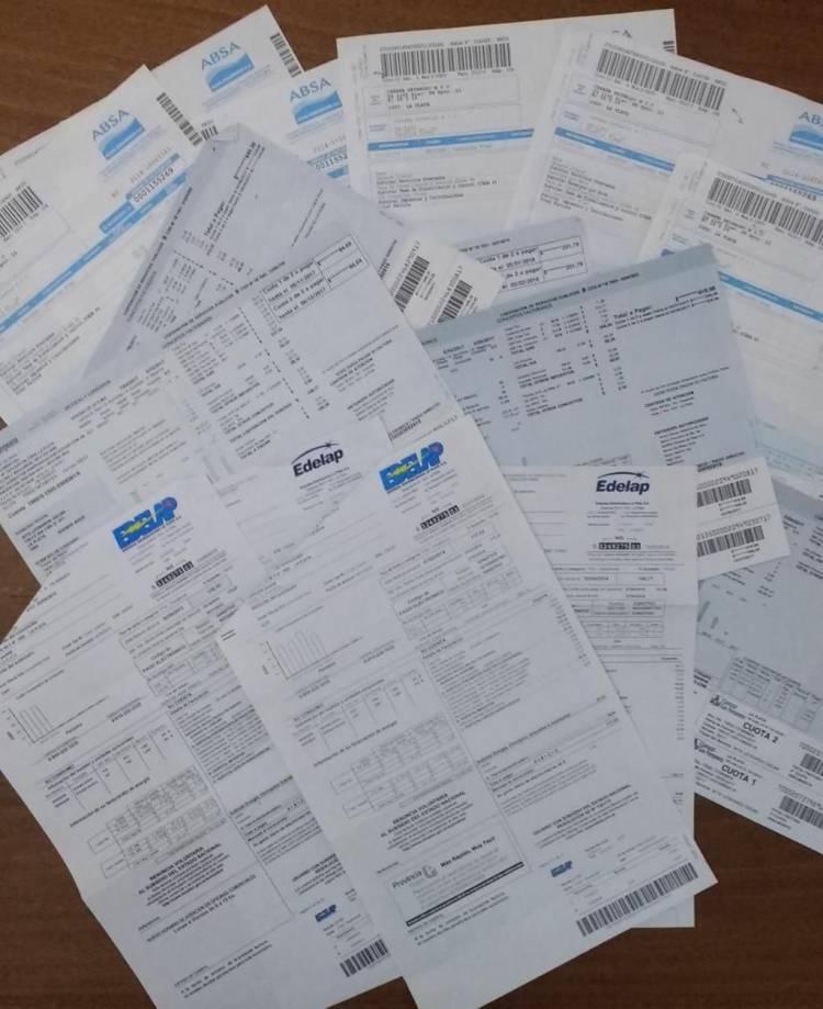 Las empresas de servicios deberán seguir mandando las facturas en papel