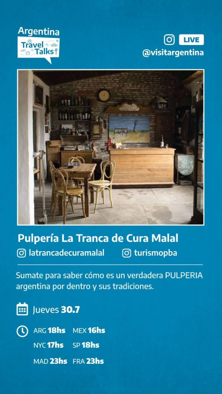 La pulpería de Cura Malal será protagonista del Argentina Travel Talk