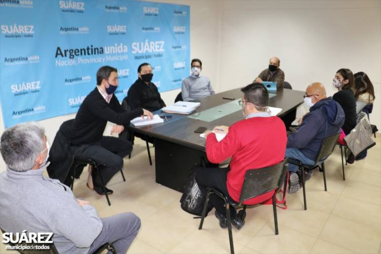 El Intendente Moccero se reunió con representantes del Sindicato de Municipales