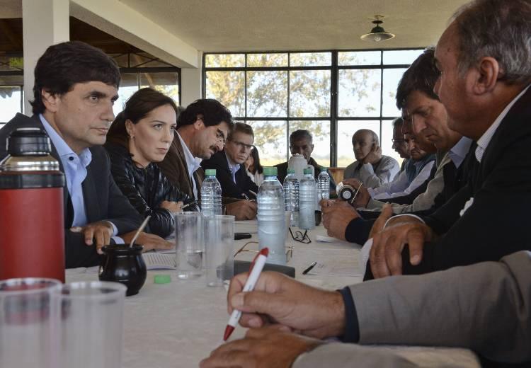 El gobierno bonaerense anunció medidas para acompañar la producción agropecuaria