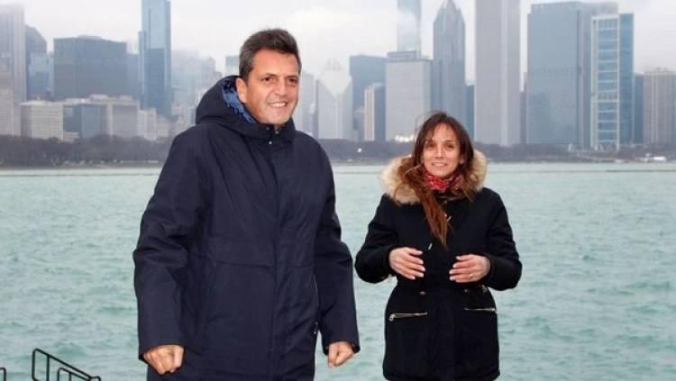 Sergio Massa se entrena en los Estados Unidos para la campaña presidencial