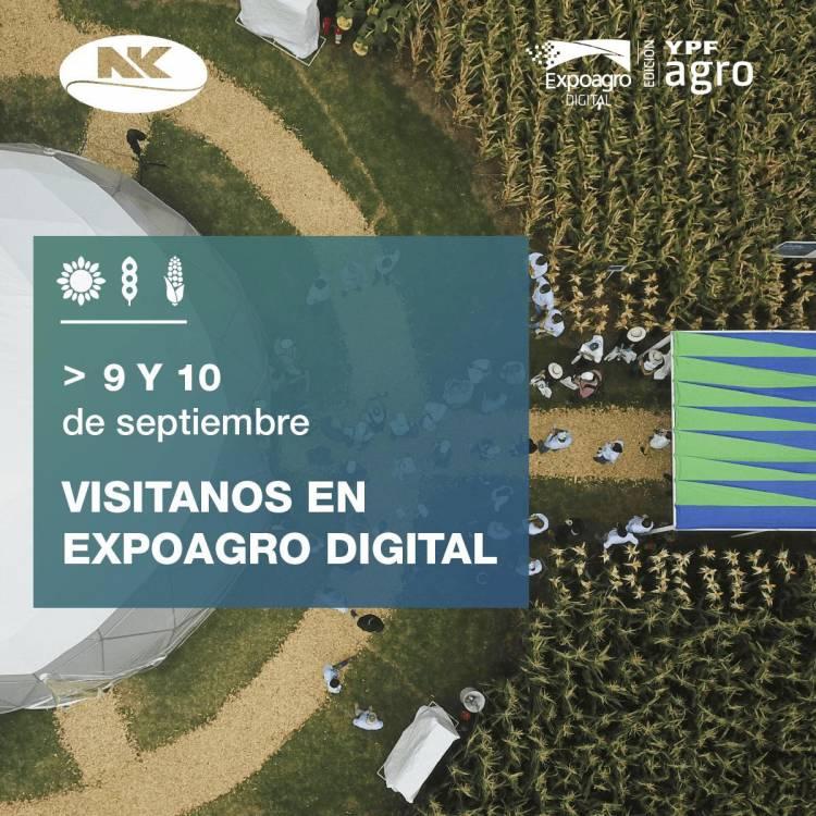 Expoagro Digital: NK afianza su compromiso innovador presentando materiales de alto potencial