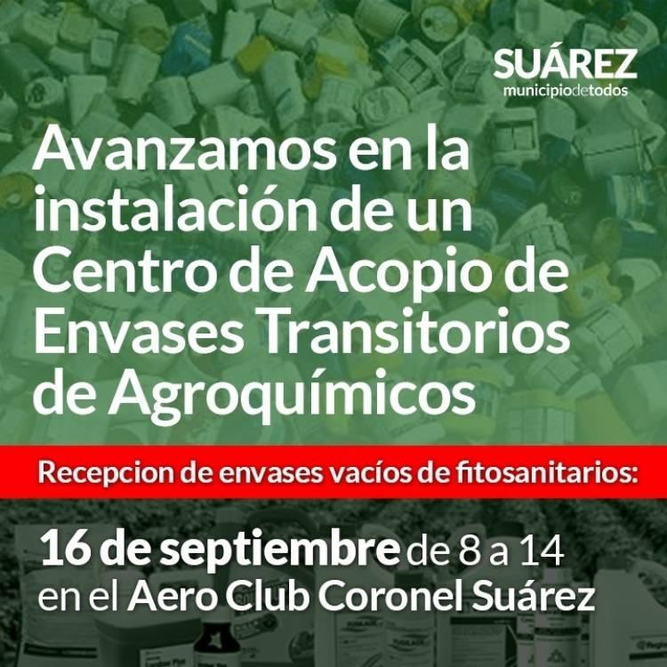 Avanzamos en la instalación de un Centro de Acopios de Envases Transitorios de Agroquímicos