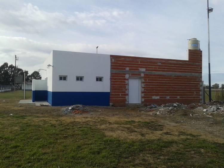 Avanzan las obras en el complejo de parque con pileta del Club El Progreso