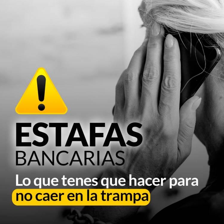 Alerta por estafas bancarias en cuarentena: lo que tenes que hacer para no caer en la trampa