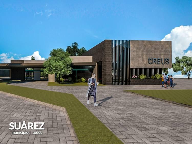 Ricardo Moccero anunció la entrega de las primeras 50 viviendas de Techo Digno y la construcción de la sede de CREUS