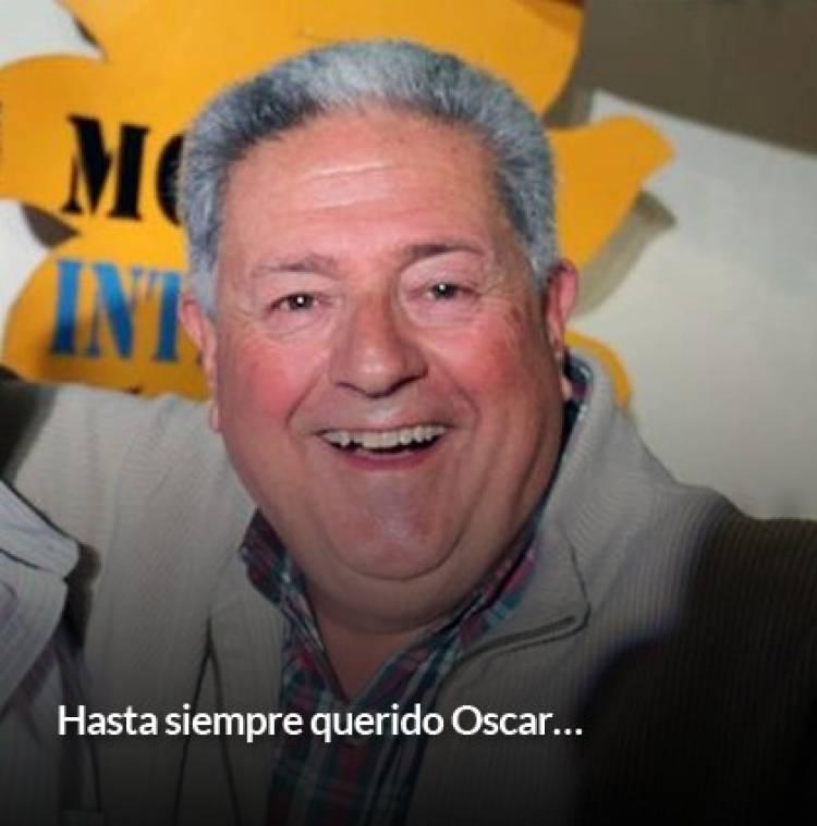 Ricardo Moccero adhiere al duelo por el fallecimiento de Oscar Durand