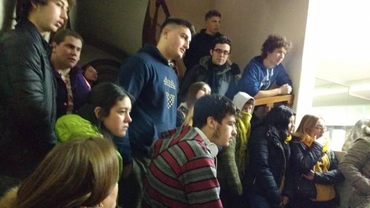 130 jóvenes de Escuelas Secundarias del distrito visitaron las Residencias Estudiantiles de Bahía Blanca