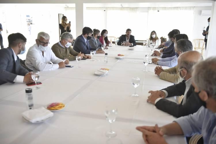 Alejandro Dichiara participó de un encuentro con Matías Lammens