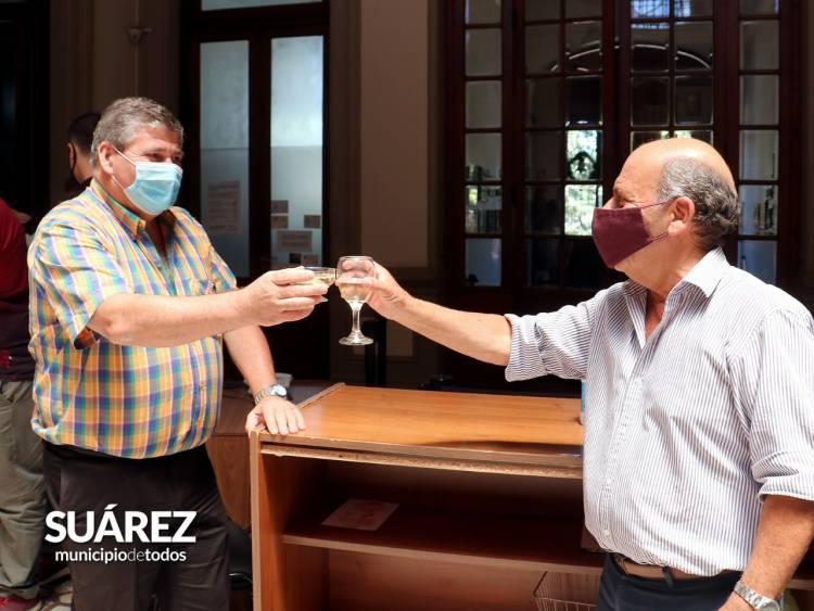El Intendente Moccero despidió el año junto a la familia municipal