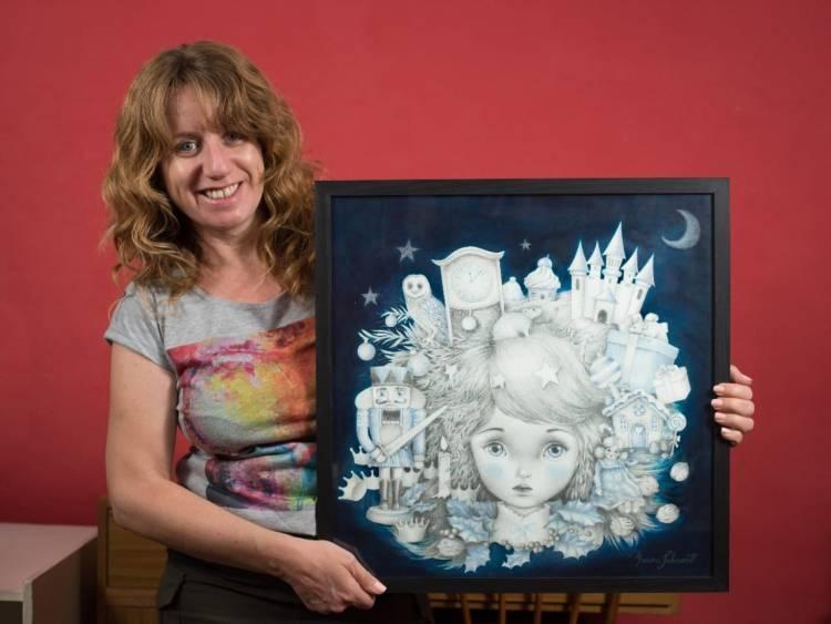 Las artistas plásticas Karina Schwerdt y Guillermina Victoria exponen sus obras en México