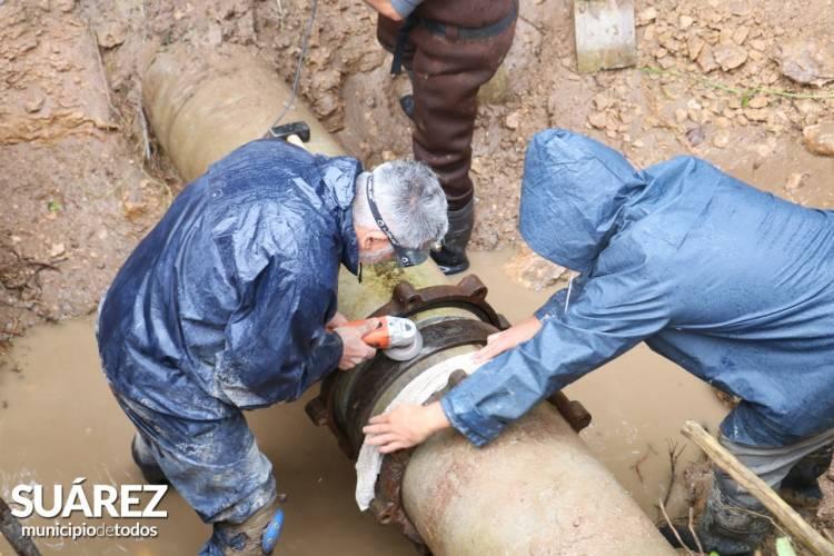 Se restableció el servicio de agua corriente