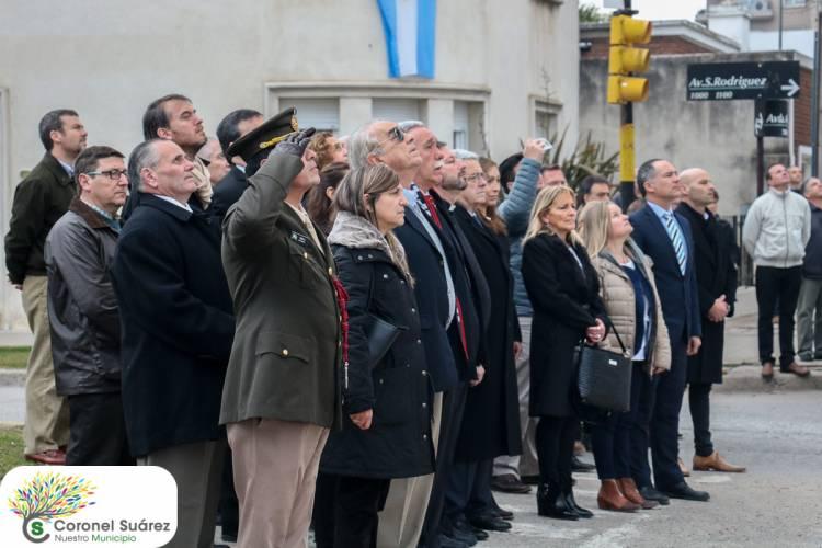 """En el acto oficial, el intendente Roberto Palacio afirmó:  """"Dejemos de ser víctimas y pasemos a ser protagonistas del cambio"""""""