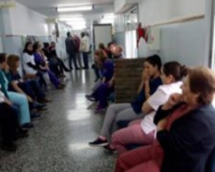 "El Hospital Municipal de Huanguelén vive un ""caos"""