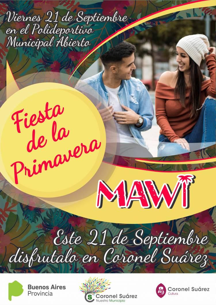"""La banda de cumbia Pop """"Mawi"""" será la atracción de la Fiesta de la Primavera"""