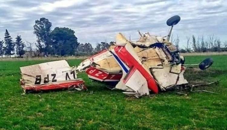 Tragedia: murió otro piloto al estrellarse con su avioneta