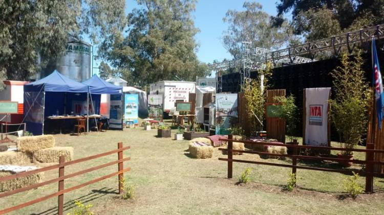 El INTA está presente en la centésima Exposición Rural suarense
