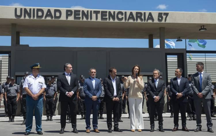 María Eugenia Vidal inauguró una cárcel modelo para jóvenes de 18 a 21 años en la ciudad de Campana