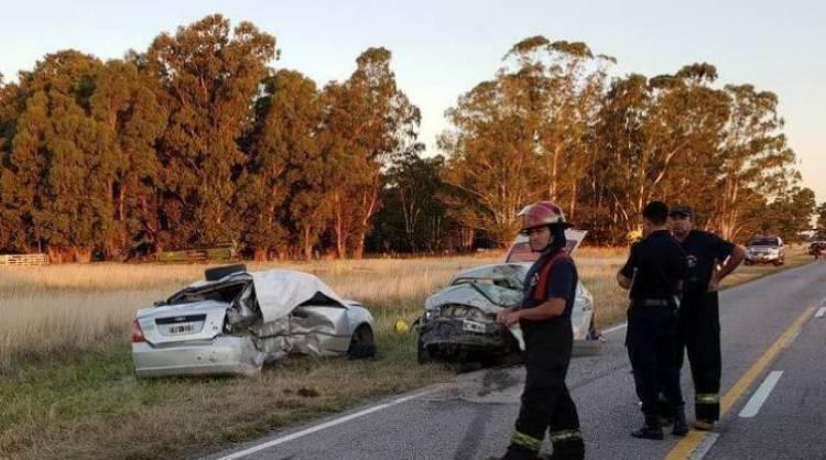 Choque fatal: Cinco muertos en accidente en Ruta 85