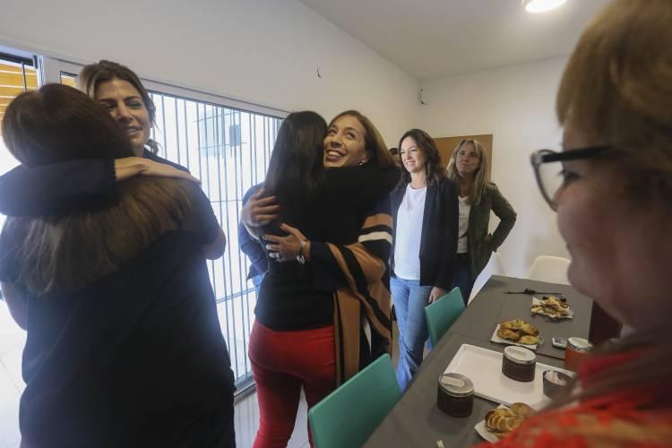 Vidal, Awada y Stanley recorrieron el nuevo hogar de protección integral del partido de Moreno