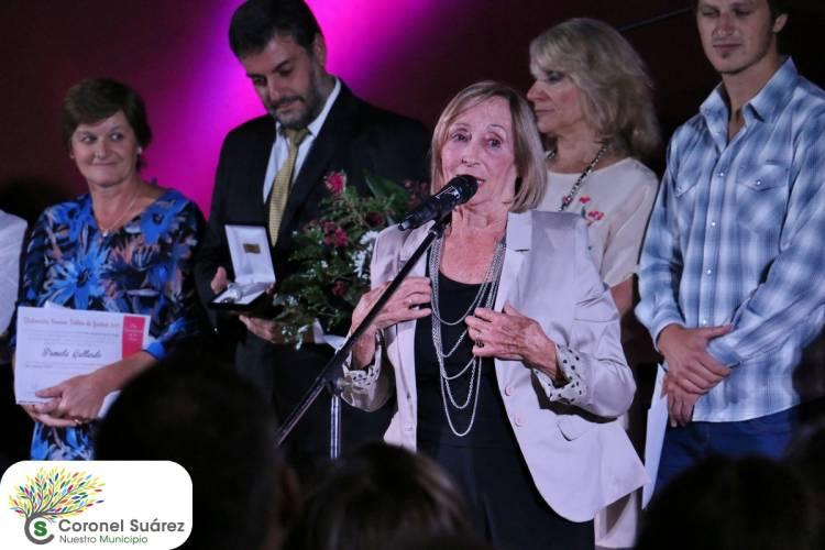 """En el Día Internacional de la Mujer, Blanca Long recibió la distinción """"Yvonne Trillia de Leschot"""" 2019"""