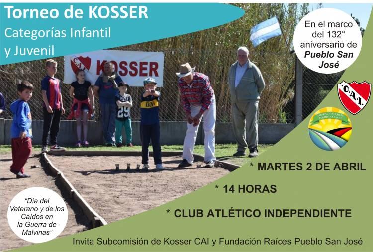 Torneo de Kosser Infanto Juvenil