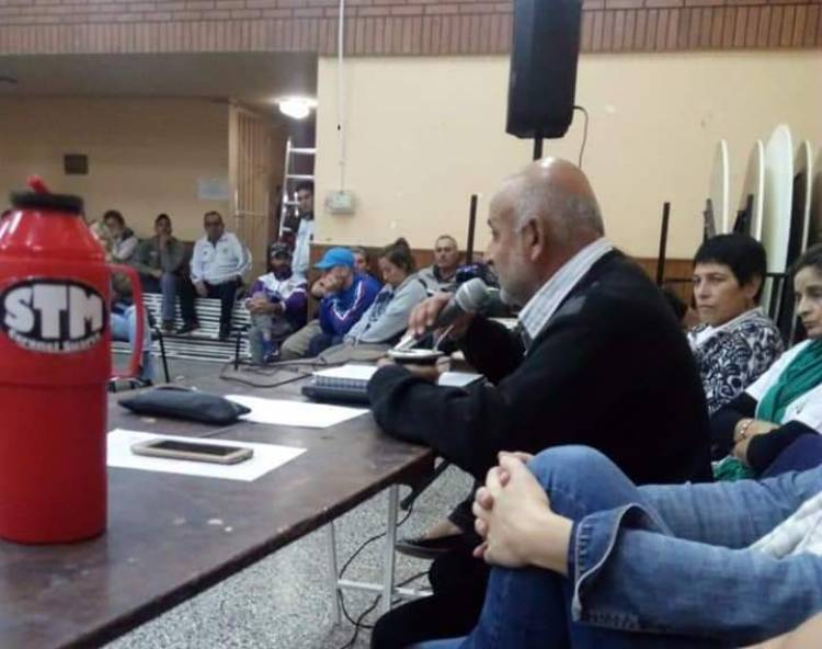 """""""Niego que se lo haya insultado al concejal Fabián González"""""""