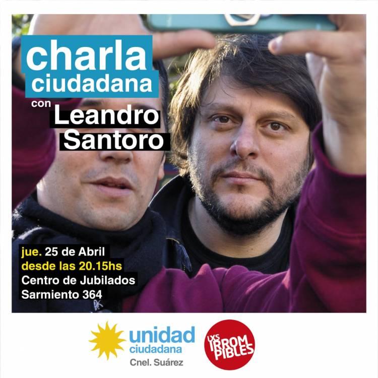 Charla Ciudadana con Leandro Santoro