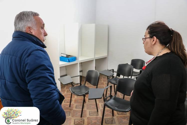 El intendente Palacio recorrió la nueva sede de la Jefatura de Inspección y Tránsito