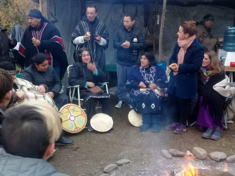 Milla Curá participó del Wiñoy Tripantu en Sierra de la Ventana