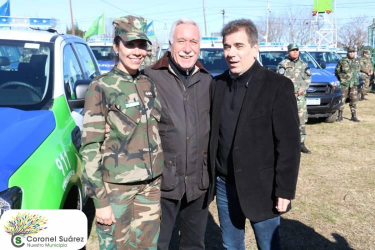 Coronel Suárez recibió un nuevo móvil para la Patrulla Rural